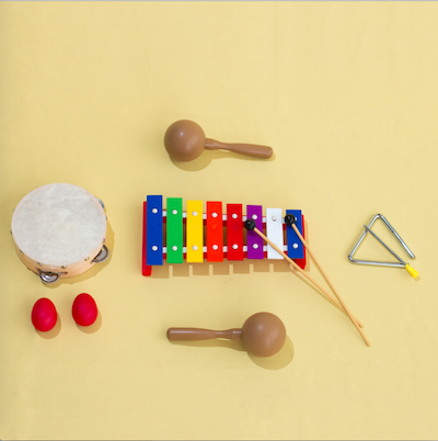 Kit Percussão Musical Infantil