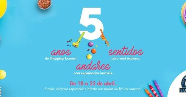 Aniversário do Shopping Metrô Tucuruvi com Programação Cultural   bora.aí 442a8ad27f