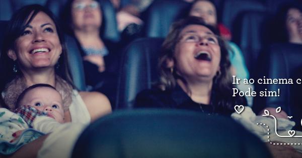 Cinematerna  vá ao cinema com seu bebê!   bora.aí fab8357f9b