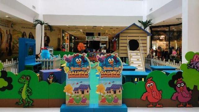 Galinha Pintadinha no Shopping Metrô Tucuruvi   bora.aí f0b33bd1be