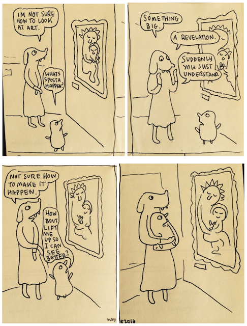 Cartoon de Lynda Barry