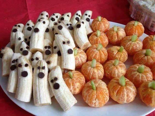 frutas para halloween