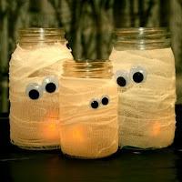 luminárias de gaze